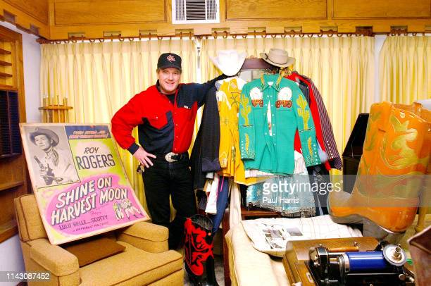 Dusty Rogers son of legendary cowboy Roy Rogers and Dale Evans inside his parents ranch with some artifacts the ranch and all its contents are going...