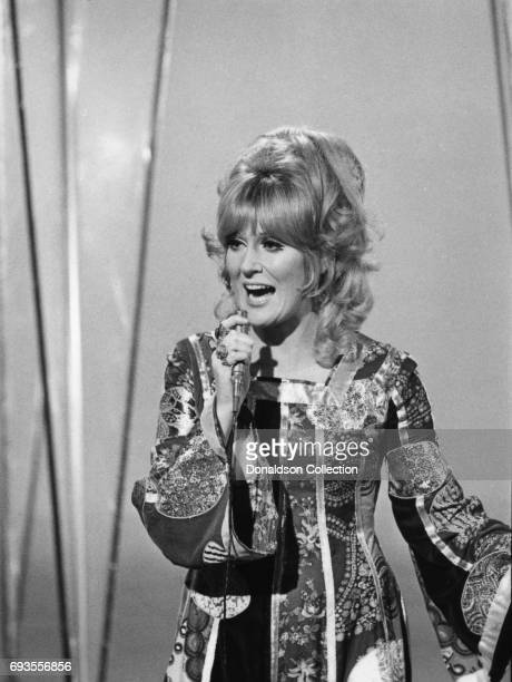 Dusty Springfield performs on This Is Tom Jones TV show in circa 1970 in Los Angeles California