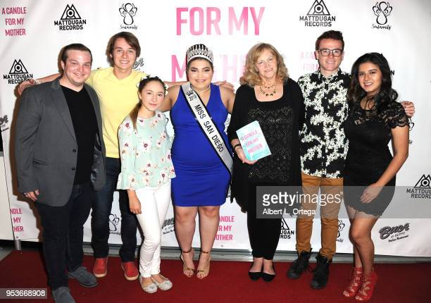 Dustynn Cerney CJ Valleroy Zoe Etzweiler Kiana Lyz Rivera Pamela L Newton Justin Tinucci and Amber Romero arrive for a luncheon in honor of Mother's...