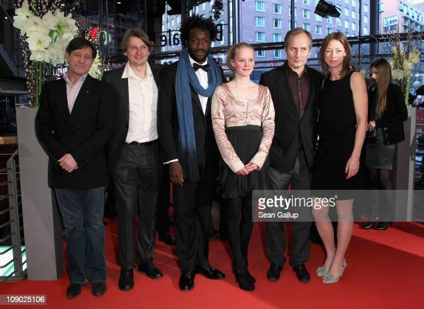 Dutch actor Pierre Bokma French actor JeanChristophe Folly actress Maria Elise Miller French actor Hippolyte Girardot and German actress Jenny Schily...