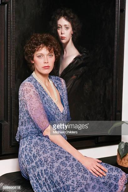 Dutch actress and model Sylvia Kristel