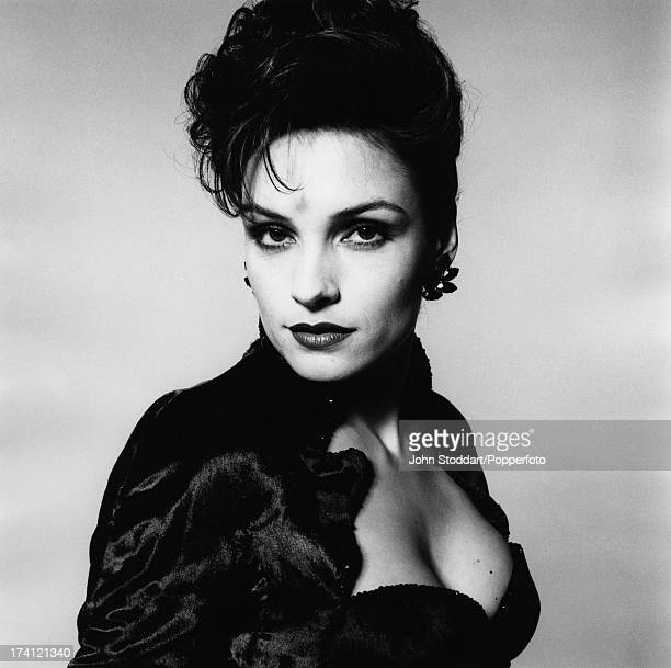 Dutch actress Famke Janssen as Xenia Onatopp in the Bond film 'GoldenEye' 1995