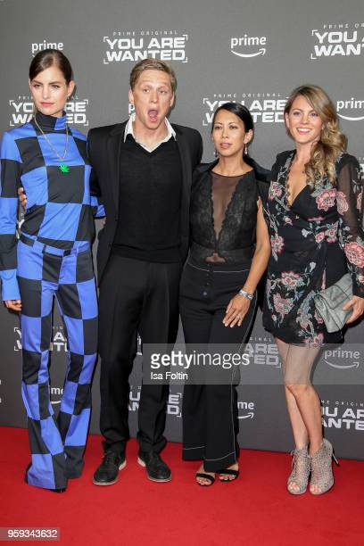 Dutch actress Hannah Hoekstra German actor producer and director Matthias Schweighoefer German actress MinhKhai PhanThi and German actress Luise...