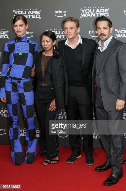 Dutch actress Hannah Hoekstra German actress MinhKhai PhanThi German actor producer and director Matthias Schweighoefer and US actor Michael Landes...