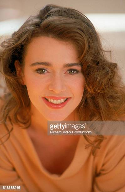 Dutch actress Maruschka Detmers smiles in Paris in 1988 Detmers was born in the Netherlands in 1962 and moved to Paris before becoming an actress