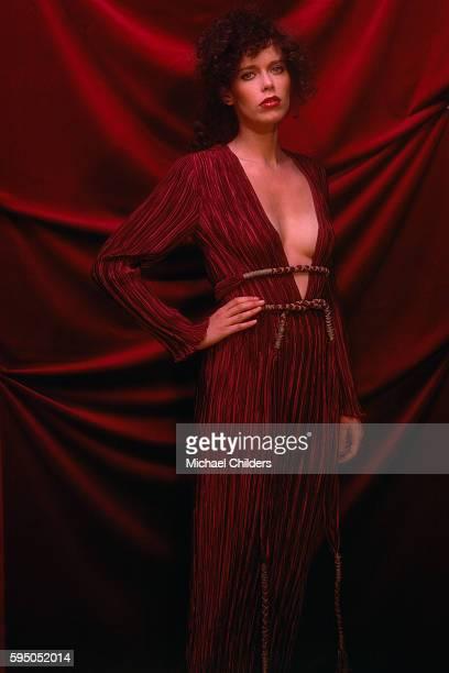 Dutch actress model and singer Sylvia Kristel