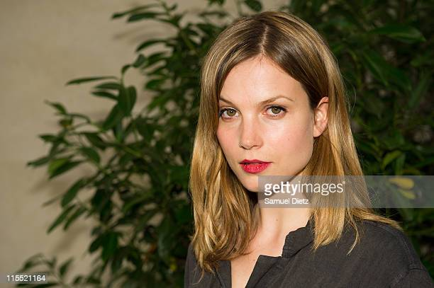 Dutch actress Sylvia Hoeks attends the 'Festival du 7e Art' at Cinema La Pagode on June 7 2011 in Paris France