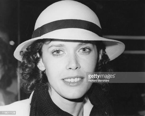 Dutch actress Sylvia Kristel star of the softcore erotic film 'Emmanuelle' circa 1975