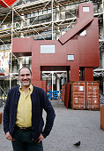 Monumental Domestikator Sculpture By Artist Joep Van Lieshout Has Been Displayed At Centre Georges Pompidou As Part of  FIAC 2017