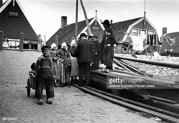 Dutch children in Marken Holland c 1930s