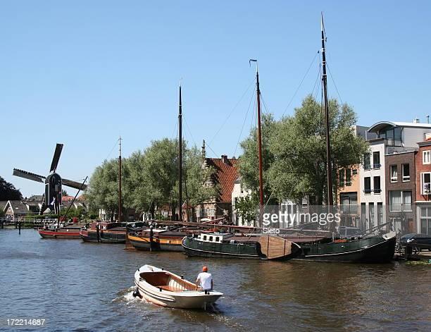 Dutch city scene