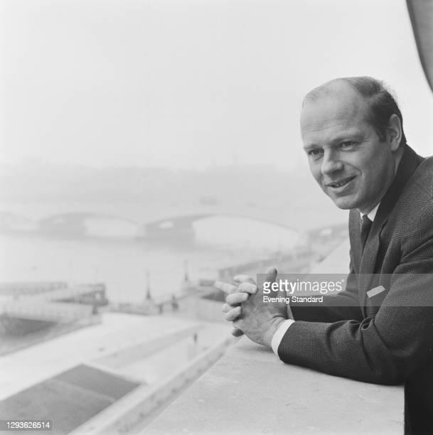 Dutch conductor and violinist Bernard Haitink, UK, 28th May 1966.