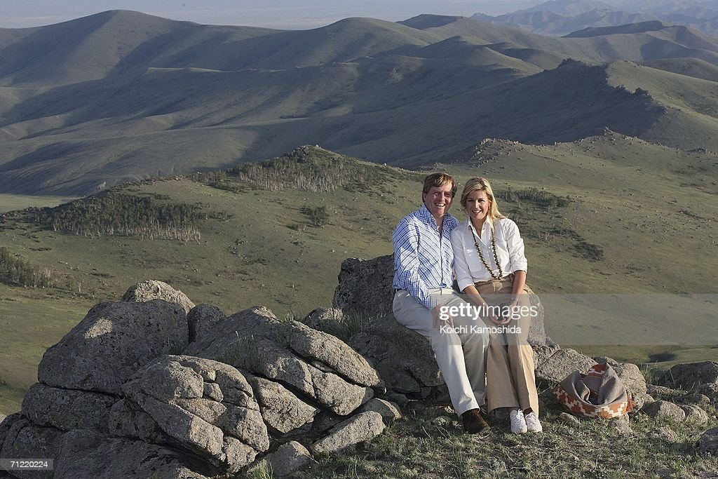 Dutch Royalty Visit Mongolia : News Photo