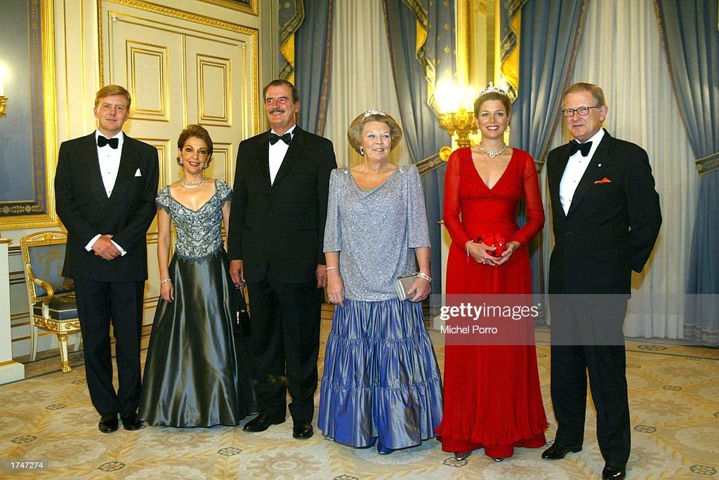 Mexican President Vicente Fox Visits Netherlands : Photo d'actualité