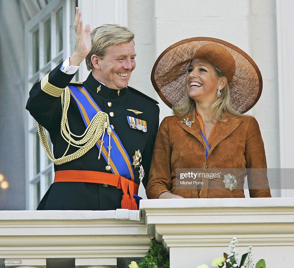 Dutch Royal Family Attend Budget Presentation : News Photo