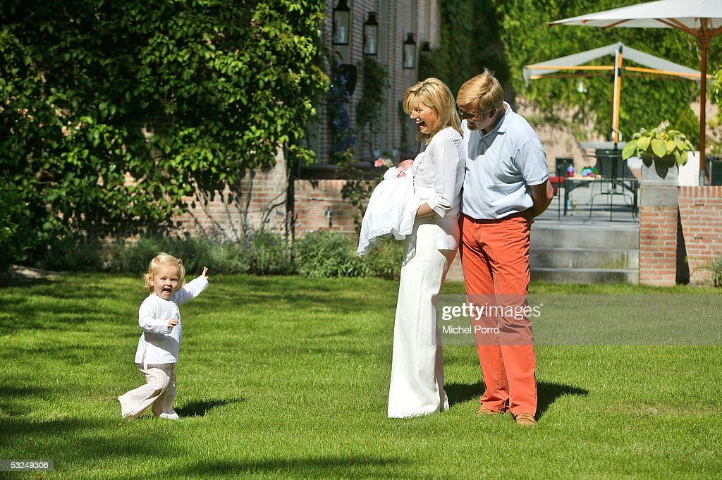 Dutch Crown Prince Willem-Alexander - Family Photocall : News Photo