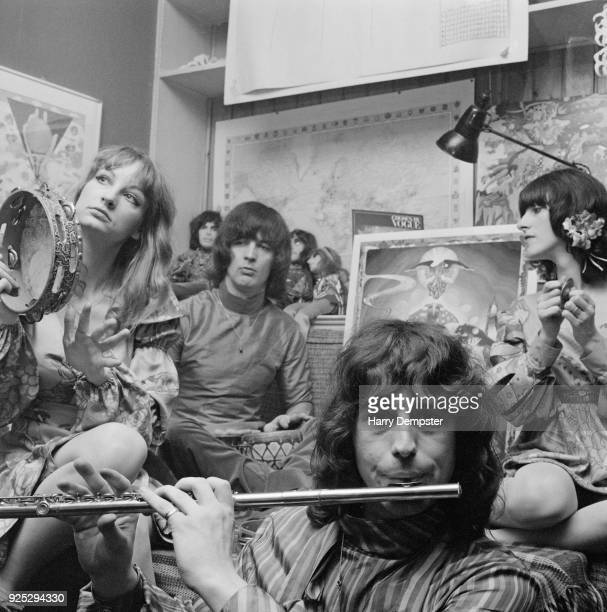 Dutch design collective and band The Fool UK 15th May 1968 Not in order Simon Posthuma Marijke Koger Josje Leeger Barry Finch