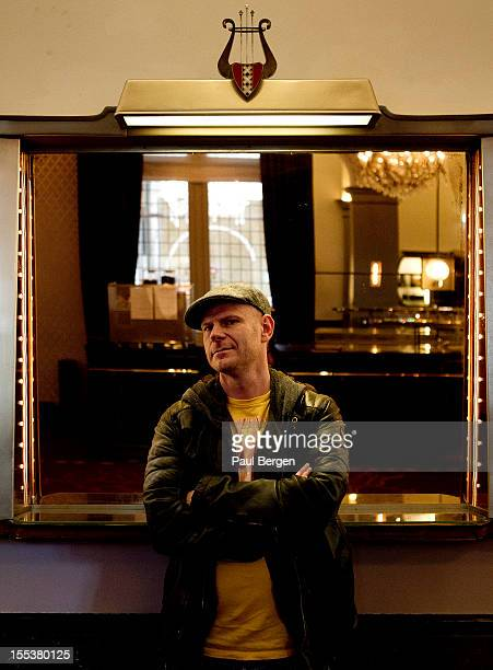 Dutch DJ and producer Tom Holkenborg alias Junkie XL poses for a portrait in Amsterdam Netherlands 16th October 2012