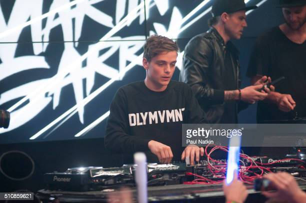 Dutch DJ Martin Garrix performs at the Studio Paris nightclub Chicago Illinois August 1 2014
