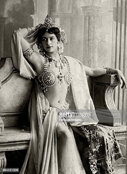 Dutch exotic dancer and courtesan Mata Hari 1906