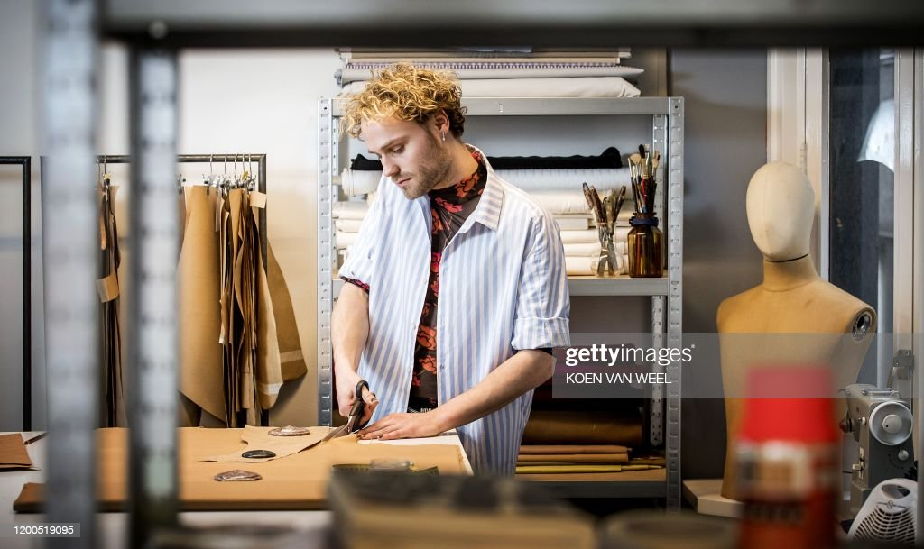 Dutch Fashion Designer Diek Van Pothoven Head Of Styling For The News Photo Getty Images