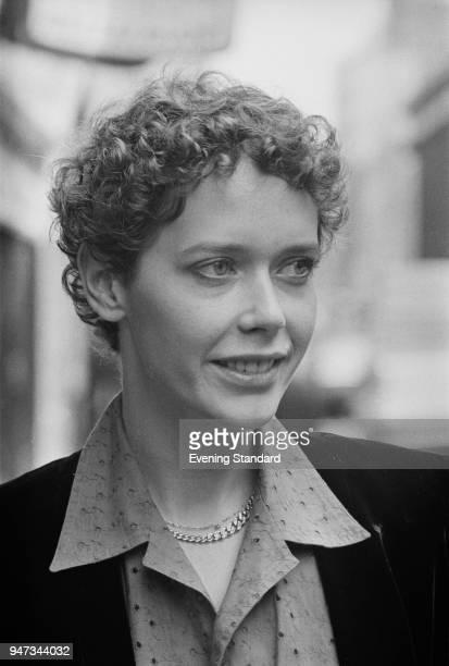 Dutch fashion model and actress Sylvia Kristel UK 14th June 1977