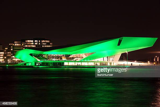Dutch Film Institute EYE goes green on Saint Patrick's Day