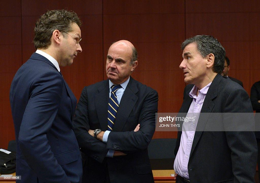 BELGIUM-EU-EUROGROUP : News Photo
