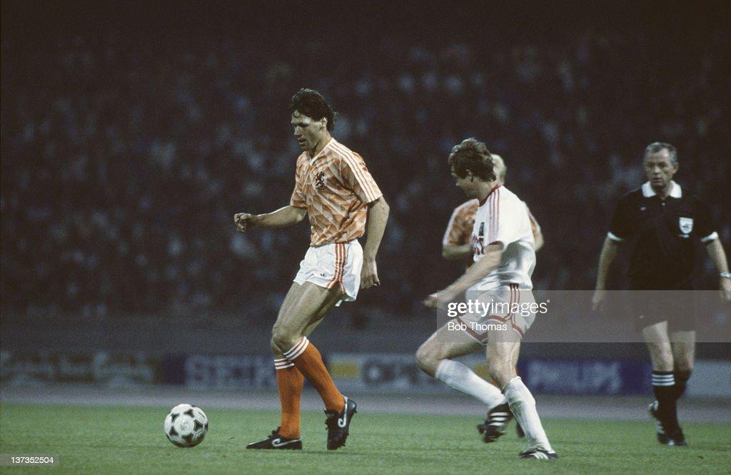 UEFA Championship, 1988 - Netherlands v USSR,  Group Stage