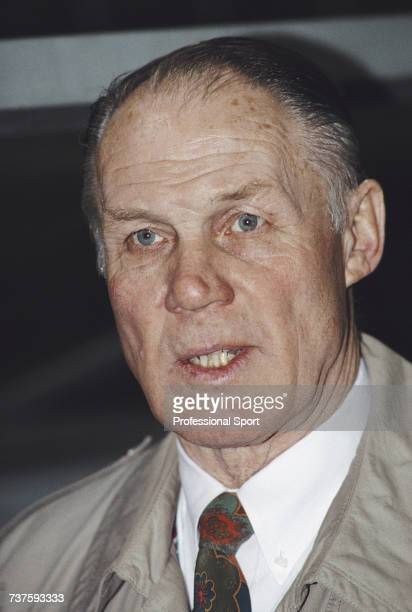 Dutch former footballer and manager of the Netherlands national football team Rinus Michels pictured circa 1990