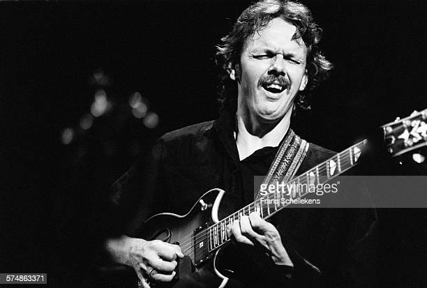 Dutch guitarist Jan Kuiper performs on October 3rd 1991 at the BIM huis in Amsterdam, the Netherlands.