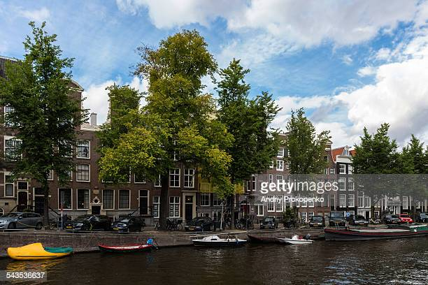 Dutch Houses by Canal