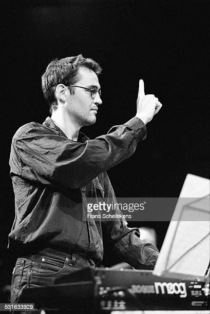 Dutch keyboard player Cor Fuller performs on November 21st 1998 at the BIM huis in Amsterdam, Netherlands.