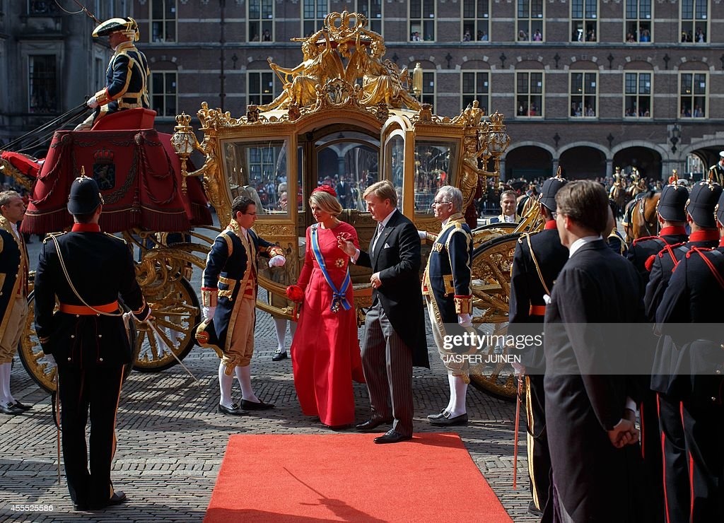 NETHERLANDS-THE HAGUE-BUDGET : News Photo