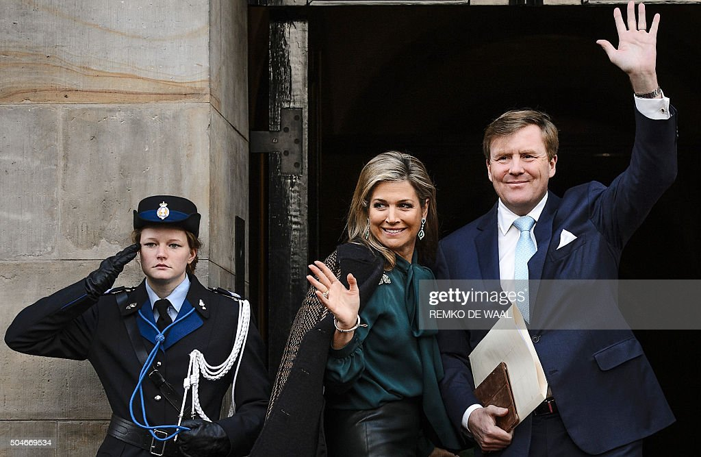 NETHERLANDS-ROYALS : News Photo