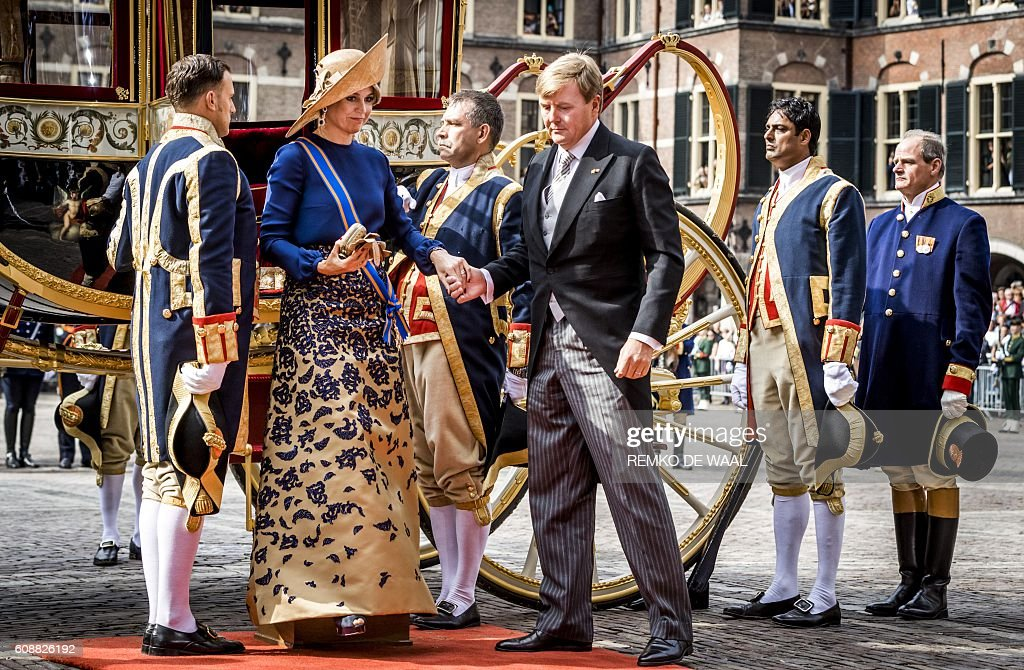 NETHERLANDS-POLITICS-TRADITION-PRINCE'S-DAY : News Photo