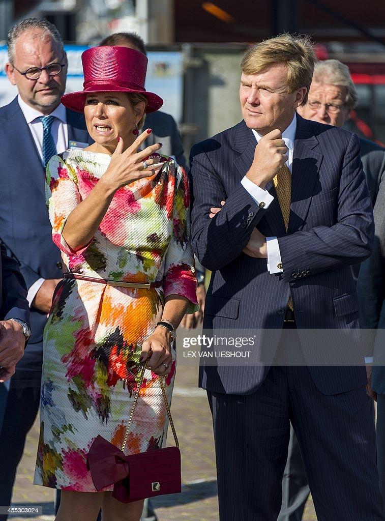 NETHERLANDS-ROYALS : ニュース写真