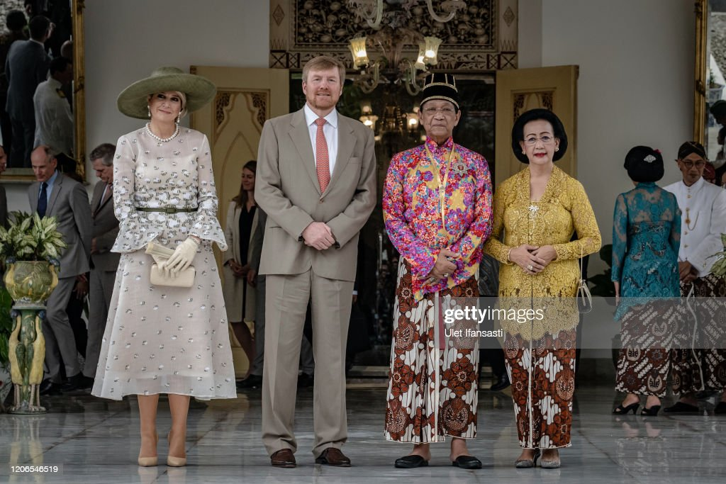Dutch King Willem-Alexander and Queen Maxima Visit Indonesia : Foto di attualità
