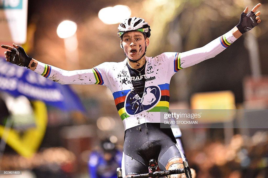 BELGIUM-CYCLOCROSS-SUPERPRESTIGE-DIEGEM-CYCLING-BEL : News Photo