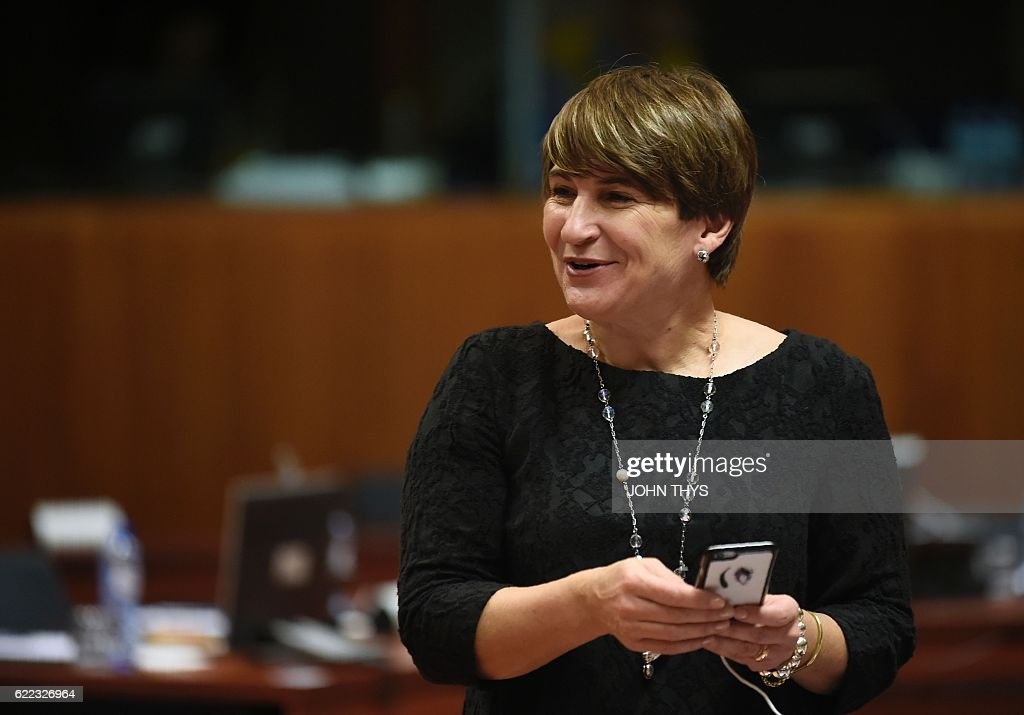 BELGIUM-EU-FOREIGN-AFFAIRS-TRADE : News Photo