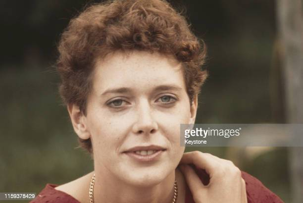 Dutch model and actress Sylvia Kristel star of the 'Emmanuelle' films 1977
