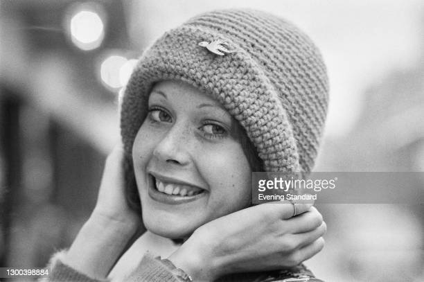 Dutch model and actress Sylvia Kristel , UK, 5th January 1973. She played the title character in the softcore erotic film 'Emmanuelle' in 1974.