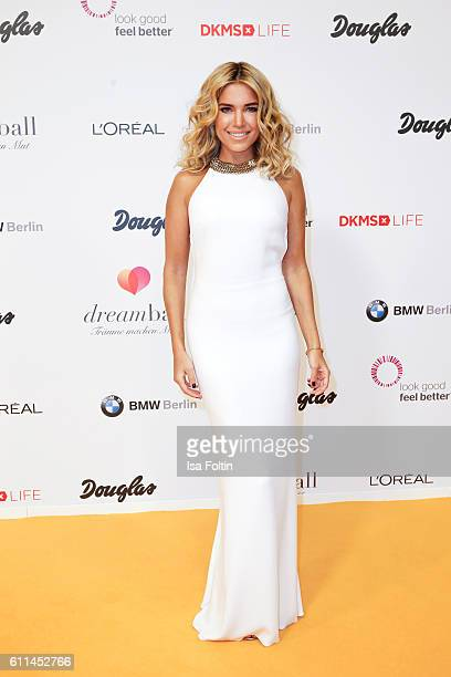 Dutch moderator Sylvie Meis attends the Dreamball 2016 at Ritz Carlton on September 29 2016 in Berlin Germany