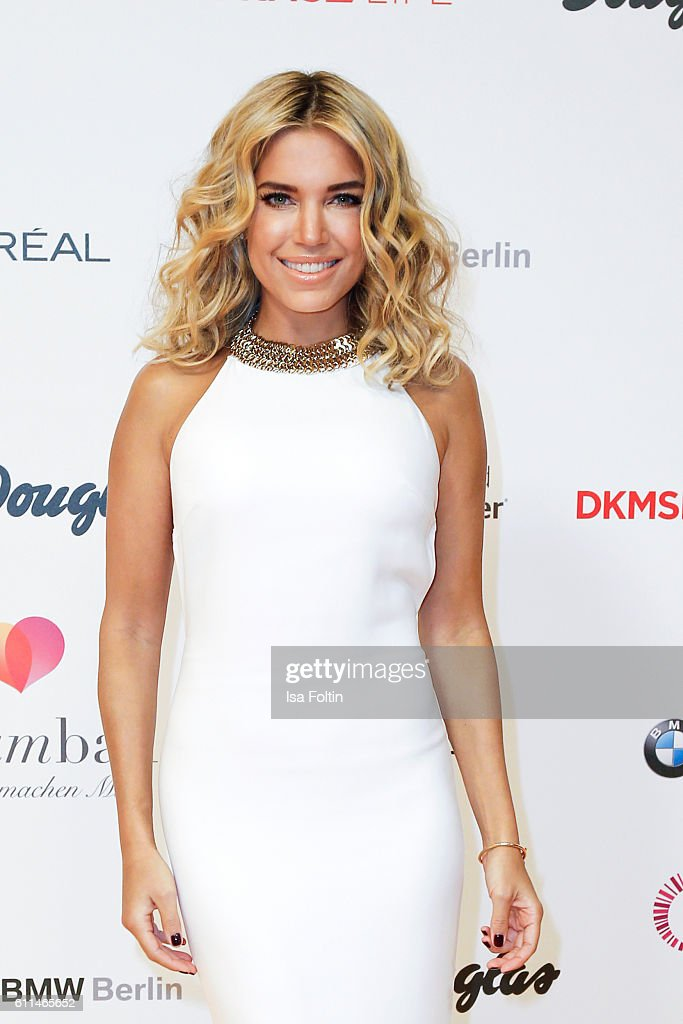 Dutch moderator Sylvie Meis attends the Dreamball 2016 at Ritz Carlton on September 29, 2016 in Berlin, Germany.