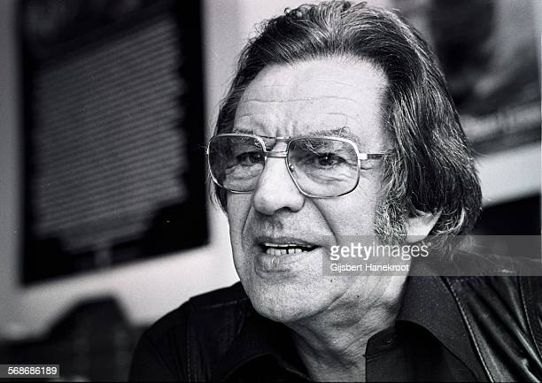 Dutch music promoter Lou van Rees portrait Amsterdam Netherlands 1975