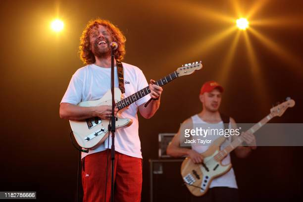 Dutch musician Benny Sings performs on day one of the Maho Rasop Festival 2019 on November 16 2019 in Bangkok Thailand