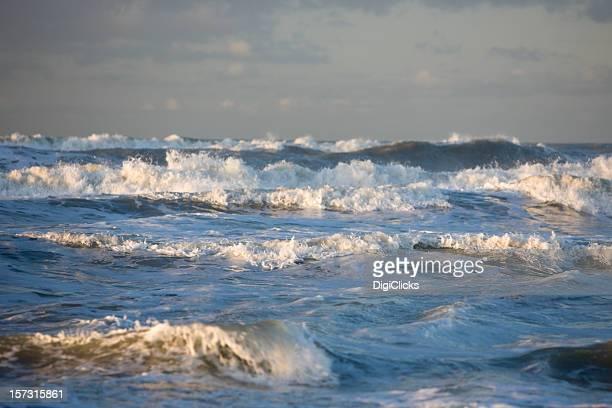 Olandese onde del mare del Nord