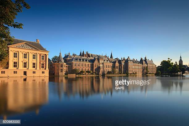 Dutch parliament buildings in The Hague