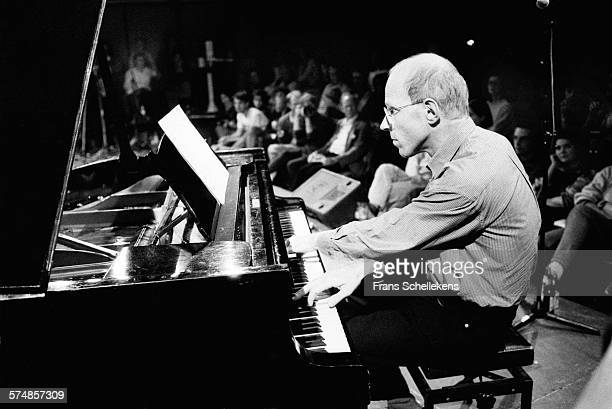 Dutch pianist Guus Janssen performs on October 1st 1994 at the BIM huis in Amsterdam, the Netherlands.
