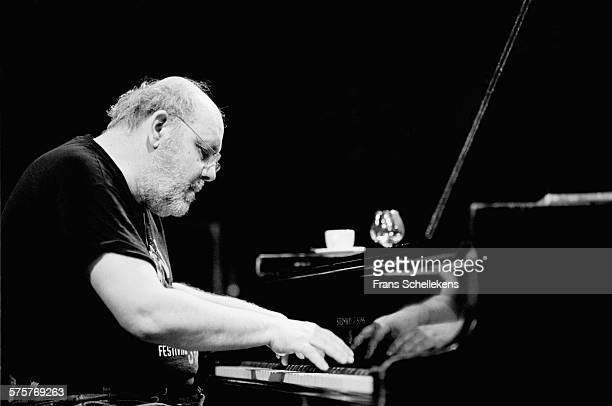 Dutch piano player Misha Mengelberg performs on September 25th 1998 at the BIM huis in Amsterdam, Netherlands.